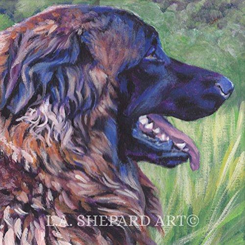 a-estrela-mountain-dog-art-portrait-print-of-an-la-shepard-painting-12x12