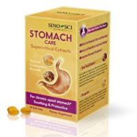 Sino-Sci Stomach Care - Stomach Relief of Stomach Gas and Bloating, Stomach Digestion, Relieve Heartburn and Acid Reflux, 30 Counts