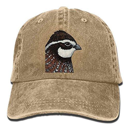 Gorras Hat Black Women Fashion Quail Men Bobwhite and Cake For Trend Cap Walnut Cowboy béisbol Printing Baseball C5gq1wxR