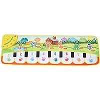 Yosoo BEB?Música Estera Niños Arrastrándose Piano Alfombra Educación temprana Danza Musical Juguete Regalo de los niños 35.43 * 10.63in