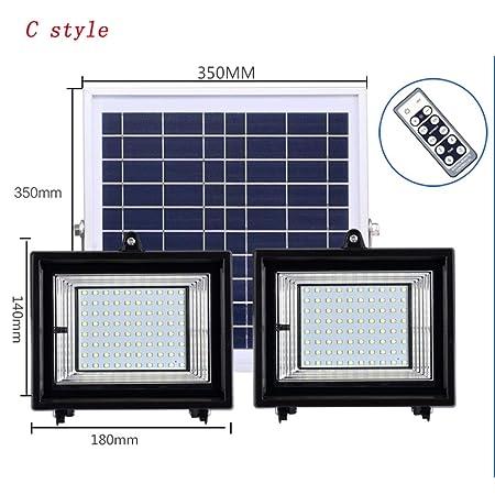 Xien Foco LED Proyector LED Foco Solar Luz De Inundación Solar Luz ...