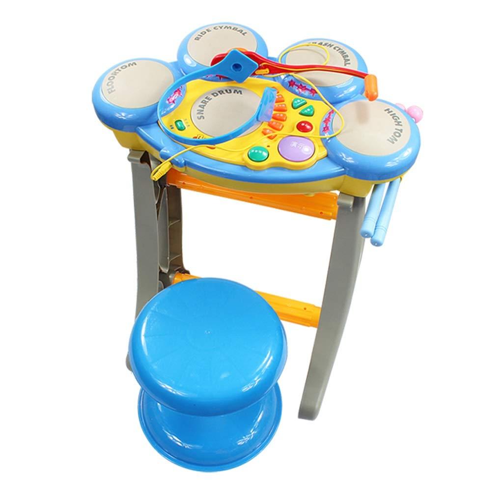 訳あり商品 LIUFS-ドラム ドラム子供の楽器パーカッションボーイ音楽初心者教育教育玩具 B07GWGMXKF (色 : 青) 青) LIUFS-ドラム 青 B07GWGMXKF, 健康イオン:5ddf0048 --- a0267596.xsph.ru