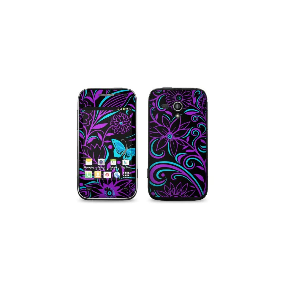 Fascinating Surprise Design Protective Decal Skin Sticker (Matte Satin Coating) for Samsung Galaxy Rush SPH M830 Cell Phone Cell Phones & Accessories