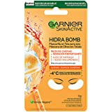 Máscara de Olhos em Tecido Suco de Laranja Garnier Hidra Bomb 6g, Garnier