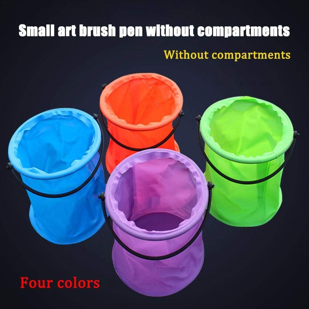 Cubo De Agua Port/átil para Pesca para Camping De Viaje De Pintura Cubo De Lavado De Pl/ástico De Pintura Color Aleatorio Stronrive Cubo Plegable