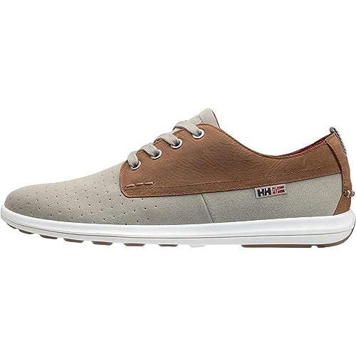 Helly Hansen Bergshaven, Mocasines para Hombre, (Aluminum/Dark Camel/Pl 706), 44 EU: Amazon.es: Zapatos y complementos