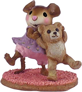 product image for Wee Forest Folk M-375 Dancing Bear Pink (Retired)