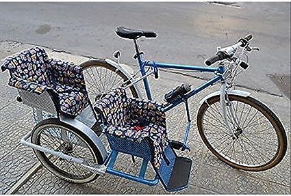 Cicli Ferrareis - Bicicleta para Adulto SIDERBIKE SIDERCAR 3 PLAZAS para NIÑO: Amazon.es: Deportes y aire libre