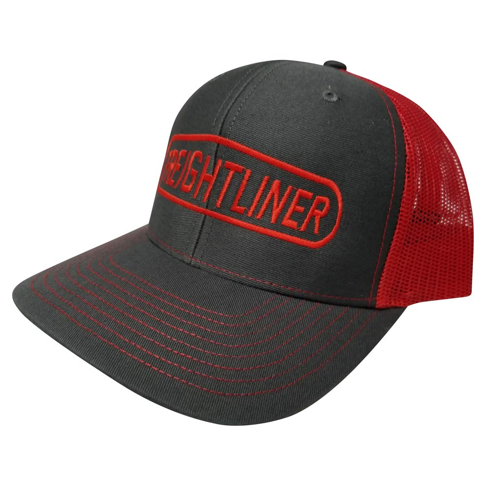 Richardson Freightliner Logo Hat Adjustable Snapback Custom Trucker Cap for Women and Men