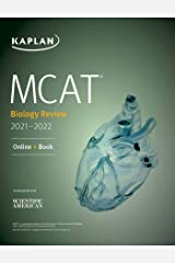 MCAT Biology Review 2021-2022: Online + Book (Kaplan Test Prep) Kindle Edition
