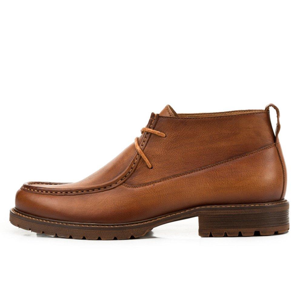 GTYMFH Herbst England Stiefel Stiefel Hohe Schuhe Spitzenschuhe Stiefel Freizeitschuhe