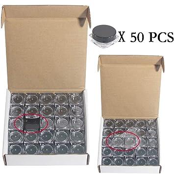 Amazon.com: Yyzko - Recipiente de plástico vacío con tapa ...