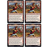 Magic: The Gathering - Anax, Hardened in The Forge - Theros Beyond Death - x4 Card Lot Playset - 125/254 Uncommon