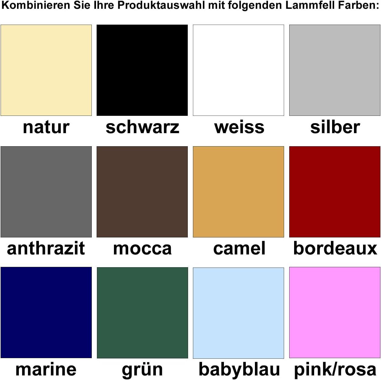 Engel Germany Tapis de Selle DE en Peau de Mouton Couleur Coton Blanc Combinez-Vous avec 12 Coleur de Peau de Mouton Sadek 4