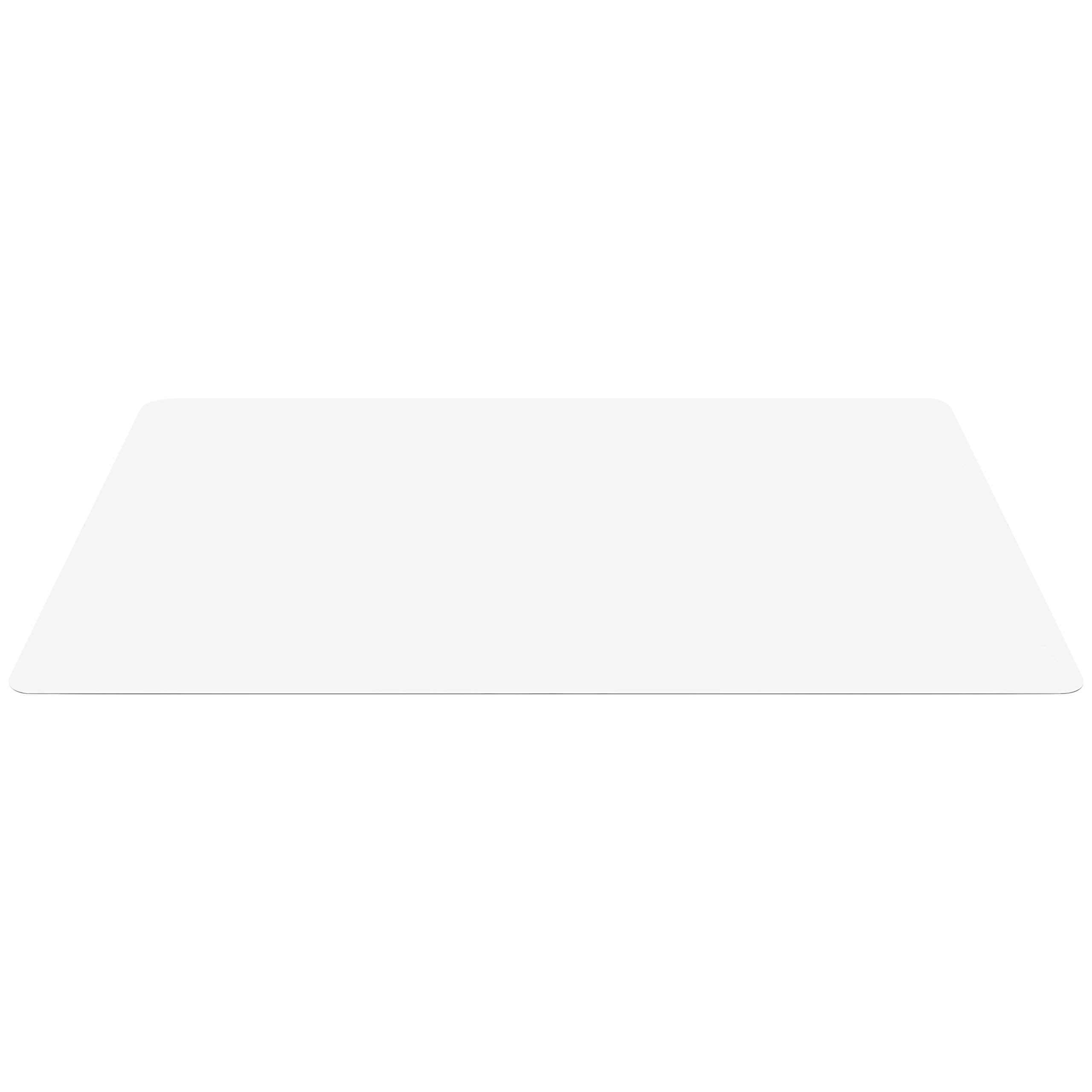 Best Choice Products 47x59in PVC Multi-Purpose Chair Floor Mat Hardwood Protector for Scratch, Scuff, Marking Protection, Clear