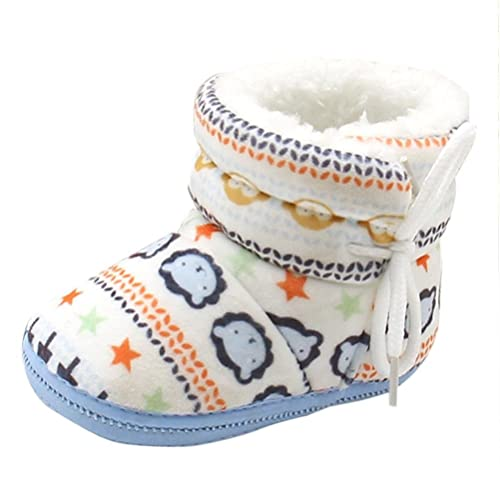 buy popular 91e71 3783a Longra Babyschuhe Baby Stiefel Schuhe weiche Sohle Stiefel Prewalker warme  Lauflernschuhe Krippeschuhe (12CM, 1-12 Monate Baby)