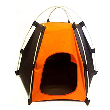 Dog or Cat Hexagon Tent House for Indoor or Outdoor Use  sc 1 st  Amazon.com & Amazon.com : Dog or Cat Hexagon Tent House for Indoor or Outdoor ...