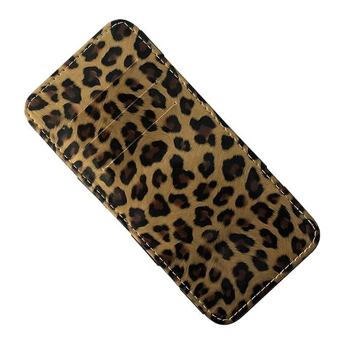 Beladla Monedero Mujer Leopardo Mini Billetera Hecha De ...