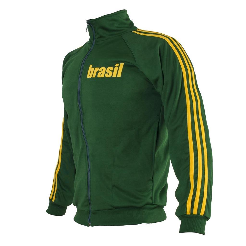JL Sport Green Capoeira Zip-up Jacket Brasil Tracksuit Children's Youth Retro Design 13-14 yrs