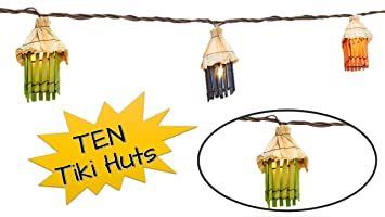 Outdoor Tiki Lights Amazon topnotch outlet tiki lights string lights fun tiki topnotch outlet tiki lights string lights fun tiki hut luau theme for your home workwithnaturefo