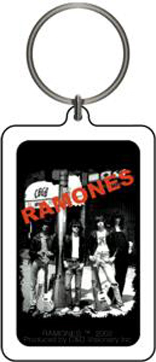 RAMONES CBGB Lucite Officially Licensed High Quality KEYCHAIN