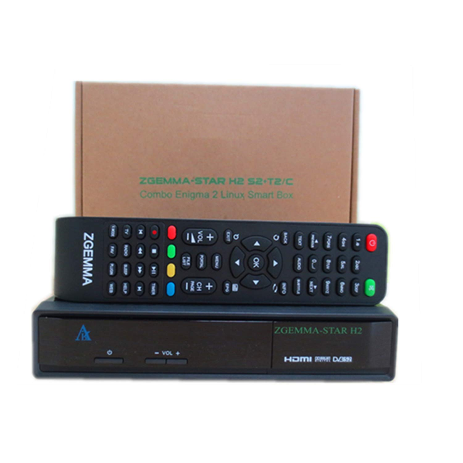 ZGEMMA-STAR H2 Enigma2 Linux OS DVB-S2+DVB-T2: Amazon co uk