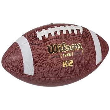 Wilson WTF1712X Pelota de fútbol Americano K2 Composite Cuero ...