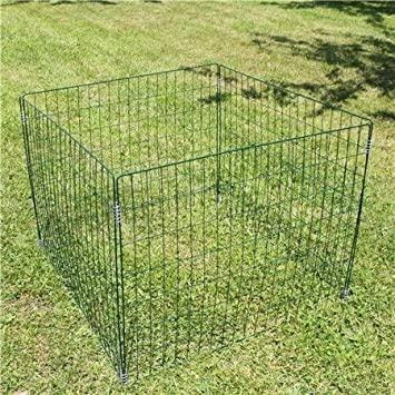 Estexo H&G - Compostador para jardín (Alambre, Malla, para residuos orgánicos)