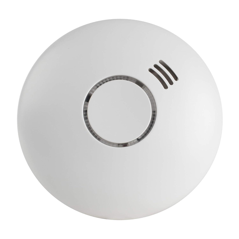 SEBSON Detector de Humo Inalambrico con Detector de Calor, DIN EN 14604, Detectores fotoeléctricos de Humo, GS558: Amazon.es: Industria, empresas y ciencia