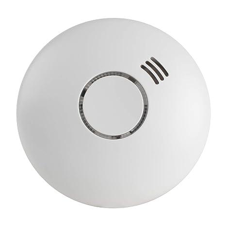 SEBSON Detector de Humo Inalambrico con Detector de Calor, incluye Soporte Magnético, DIN EN 14604, Detectores fotoeléctricos de Humo, GS558: Amazon.es: ...