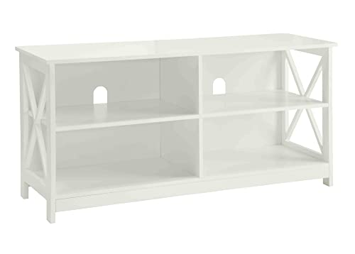 Convenience Concepts Designs2Go Oxford TV Stand, White