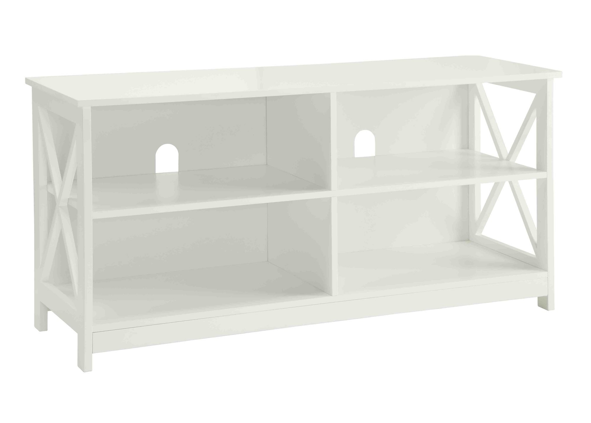 Convenience Concepts Designs2Go Oxford TV Stand, White