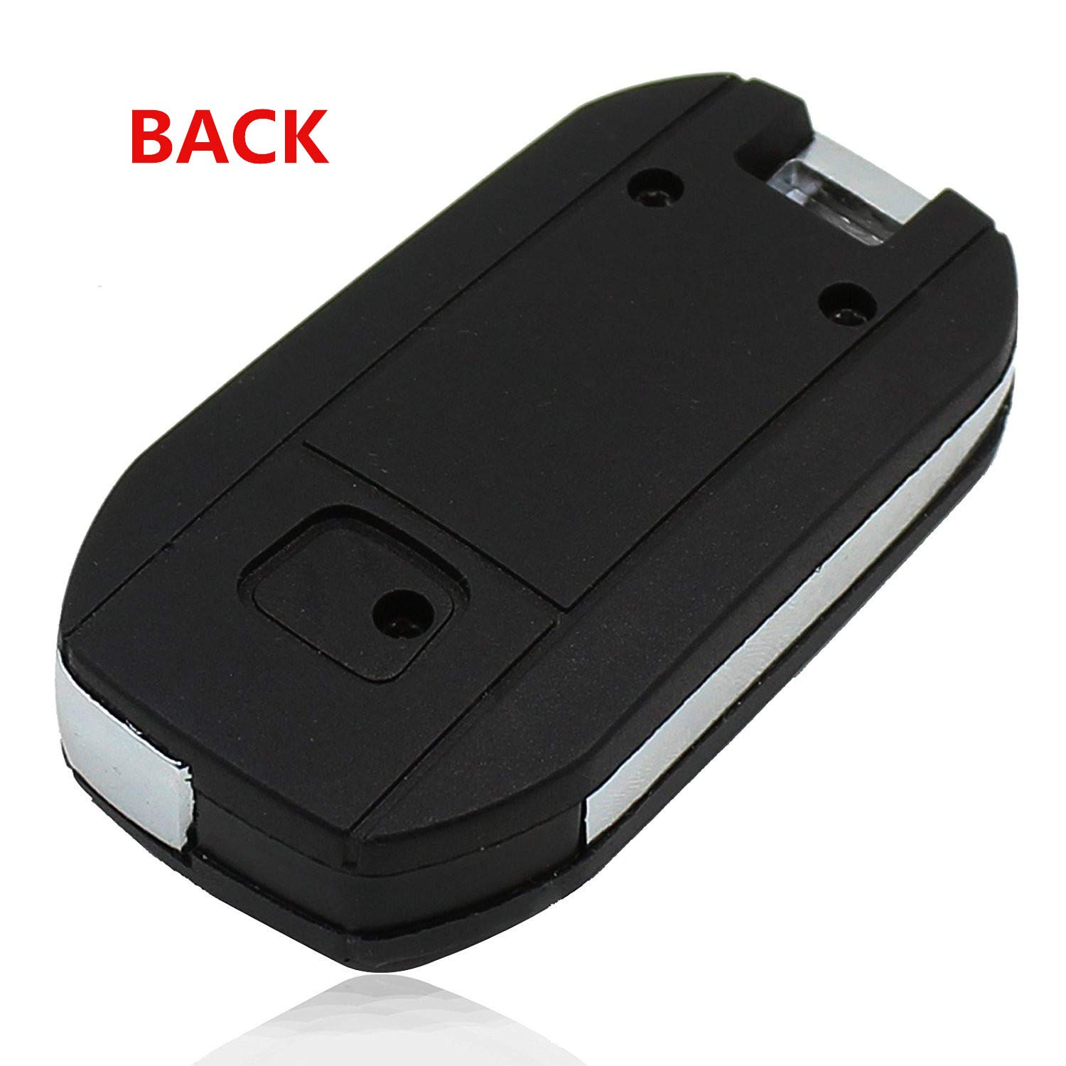 Heart Horse 3+1 Buttons Flip Remote Key Fob Case Key Shell for Honda Fit City CRV Odyssey Accord Fob Cover XIN HUI