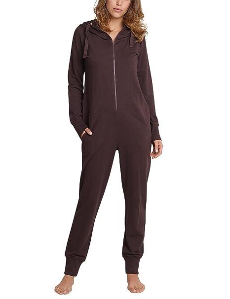 Schiesser Mix & Relax Jumpsuit, Pijama de Una Pieza para Mujer: Amazon.es: Ropa y accesorios