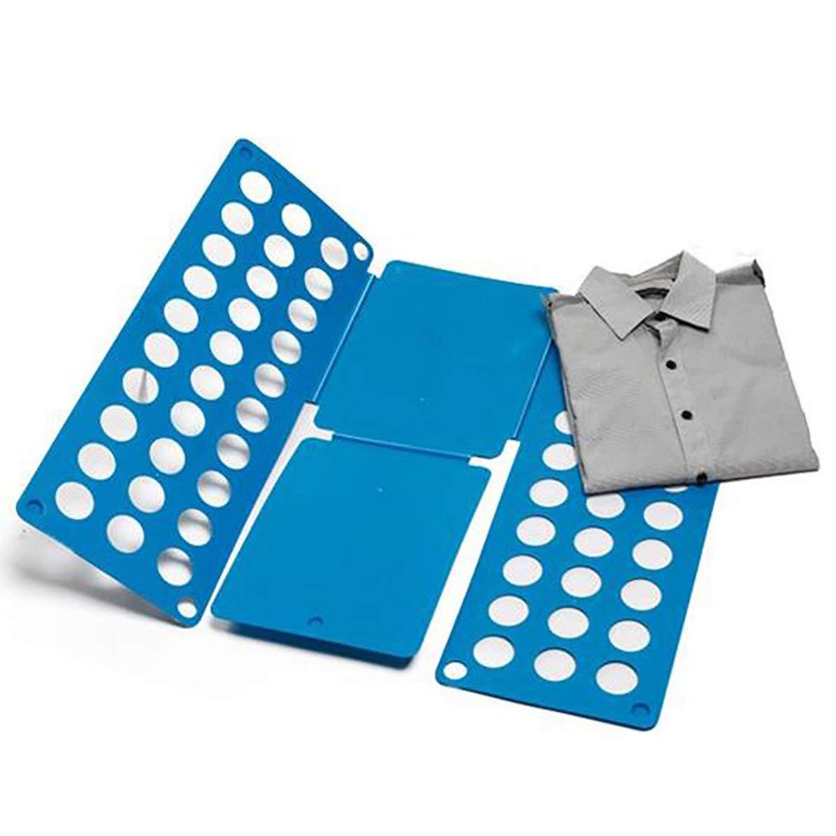 WEIWEITOE Pratica tavola Pieghevole per Vestiti Risparmia Tempo Maglietta Magica Multifunzionale ad Alta velocit/à Abbigliamento Piega Facile offrire