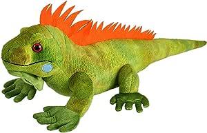 Wild Republic Iguana Plush, Stuffed Animal, Plush Toy, Kids Gifts, Cuddlekins, 15 Inches, Multi (12905)