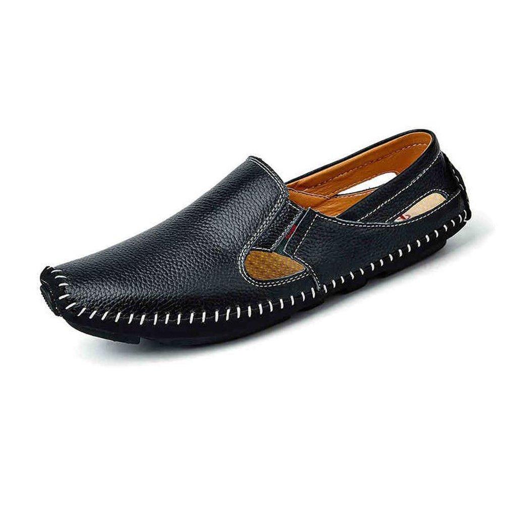 CJC Sandalias para Hombre Durable Verano Resistente Grip Beach Shoes para Caminar de Primavera Travelr (Color : T1, Tamaño : EU40/UK7) EU40/UK7|T1