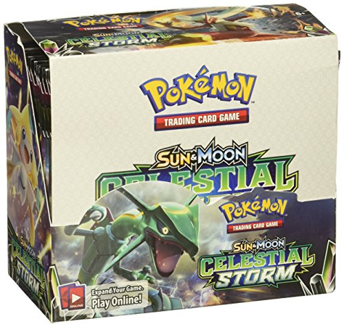 - Pokemon TCG: Sun & Moon Celestial Storm 36-Pack Booster Box Factory Sealed