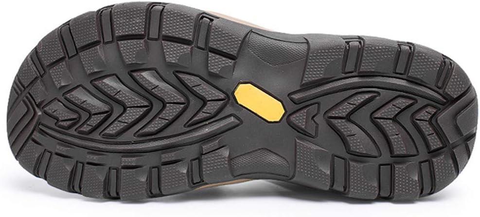 LIXIGB Sports de Plein air Sandales Marche réglable Hommes Toe fermé Trekking Décontracté Respirant Non-Slip Athletic été Sandal Purple