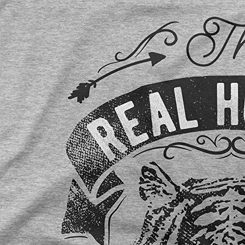 Real Hunter Live In The Woods Femme T-shirt