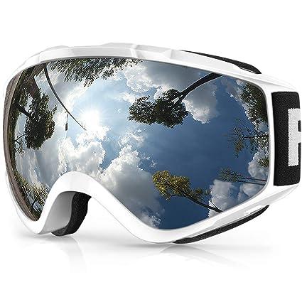 findway Gafas de Esquí, Máscara Gafas Esqui Snowboard Nieve Espejo ...