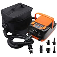 Rechargeable Inflating Paddle Board Electric Air Pump 16PSI with Built-in 6000mAh Li-on Battery,ISUP Pump for Inflatable…