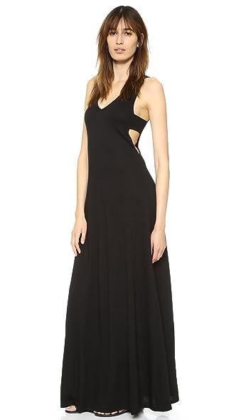 Black Cutout Maxi Dress