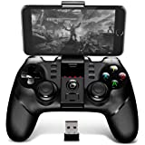 Original iPega PG - 9076 Bluetooth Gaming Controller Gamepad Joystick Gamepad Gaming Remote Control with Bracket 2.4G Wireless Receiver-Support Android, TV, TV Box, Win XP / 7 / 8 / 10 system