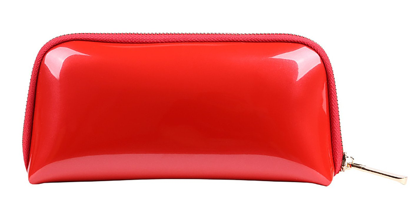 Vigourtrader Cosmetic Bag For Women Candy Color Evening Party Makeup Pouch Handbag Clutch Waterproof