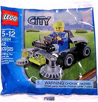 LEGO City: Lawn Mower Establecer 30224 (Bolsas): Amazon.es ...