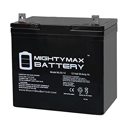 Amazon.com: Mighty Max Battery 12V 55Ah Power Boat Pontoon Electric on 36 volt trolling motor wiring diagram, omc trolling motor wiring diagram, 12 volt trolling motor power supply, boat wiring diagram, 12 volt horn diagram, motorguide trolling motor parts diagram, coleman trailer wiring diagram, 24 volt trolling motor wiring diagram, minn kota wiring diagram, jeep grand cherokee blower motor wiring diagram, 4 wire stepper motor wiring diagram, 12 volt trolling motor parts, 24v trolling motor wiring diagram, 12 volt trolling motor connector, motorguide repair parts diagram, 12 wire generator wiring diagram, motorguide 24 volt wiring diagram,
