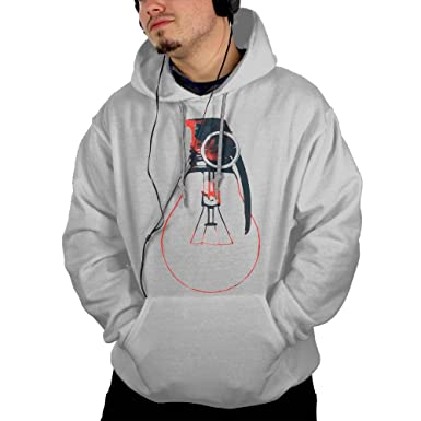 40b6a854 Amazon.com: CGYIO Idea Light Bulb With Grenade Unique Hoodies For Men Urban  Drawstring: Clothing