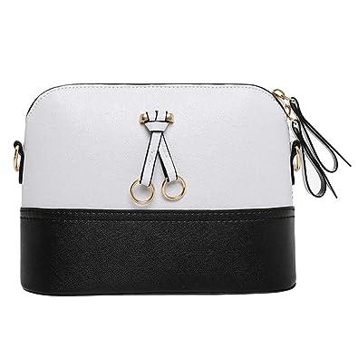 e3f2ad2741 Sale Clearance Women's Bag Sunday77 Fashion Lady Leather Splice Handbag  Shoulder Bag Crossbody Bag Tote Bag