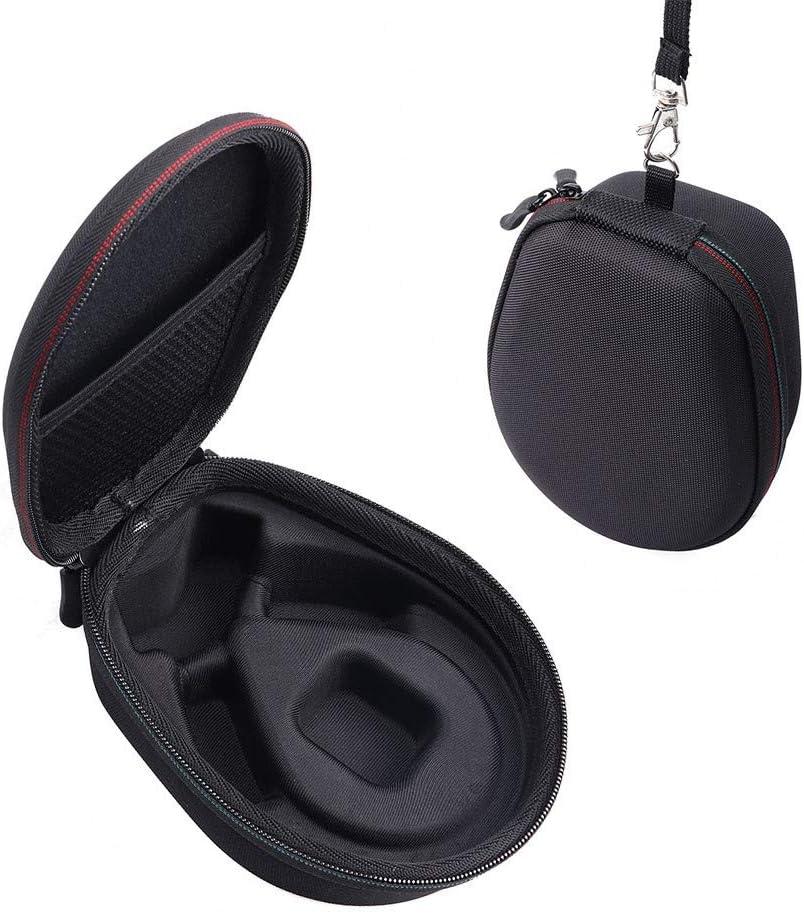 Esimen Hard Case for AfterShokz Aeropex Open-Ear Wireless Bone Conduction Headphones Travel Carrying Storage Bag Black